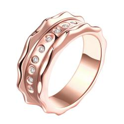 Vienna Jewelry Gold Plated Antwerp Clasical Inspired Ring - Thumbnail 0