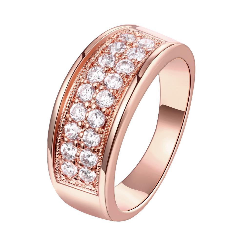 Vienna Jewelry Gold Plated Jewels Covering Band Ring