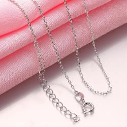 Vienna Jewelry Think Rounding Necklace
