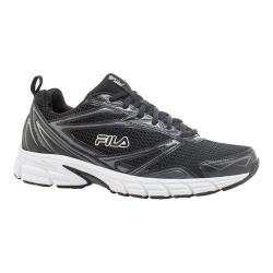 Men's Fila Royalty Running Shoe Black/Castlerock/White