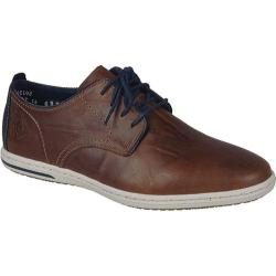 Men's Rieker-Antistress Julian 20 Plain-Toe Sport Oxford Tabak/Denim/Navy Leather/Synthetic Combo