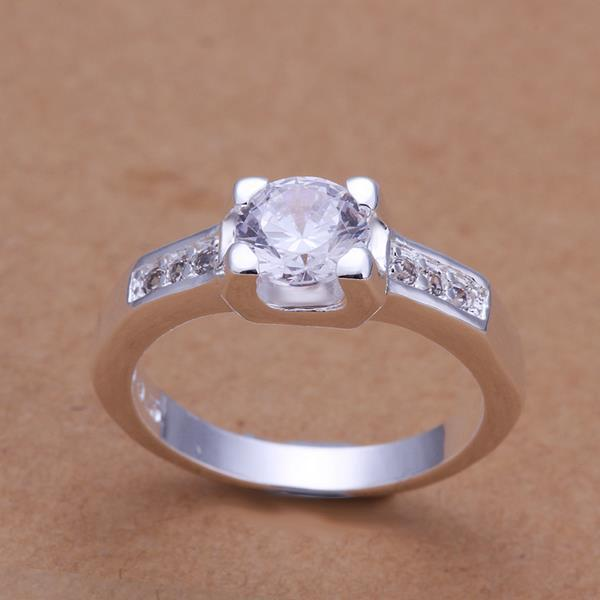 Vienna Jewelry Sterling Silver Classical Petite Ring Size: 8