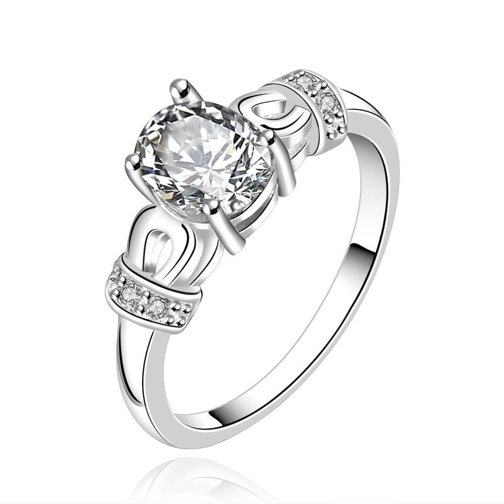 Vienna Jewelry Sterling Silver Mini Orange Citrine Gem Woven Petite Ring Size: 7