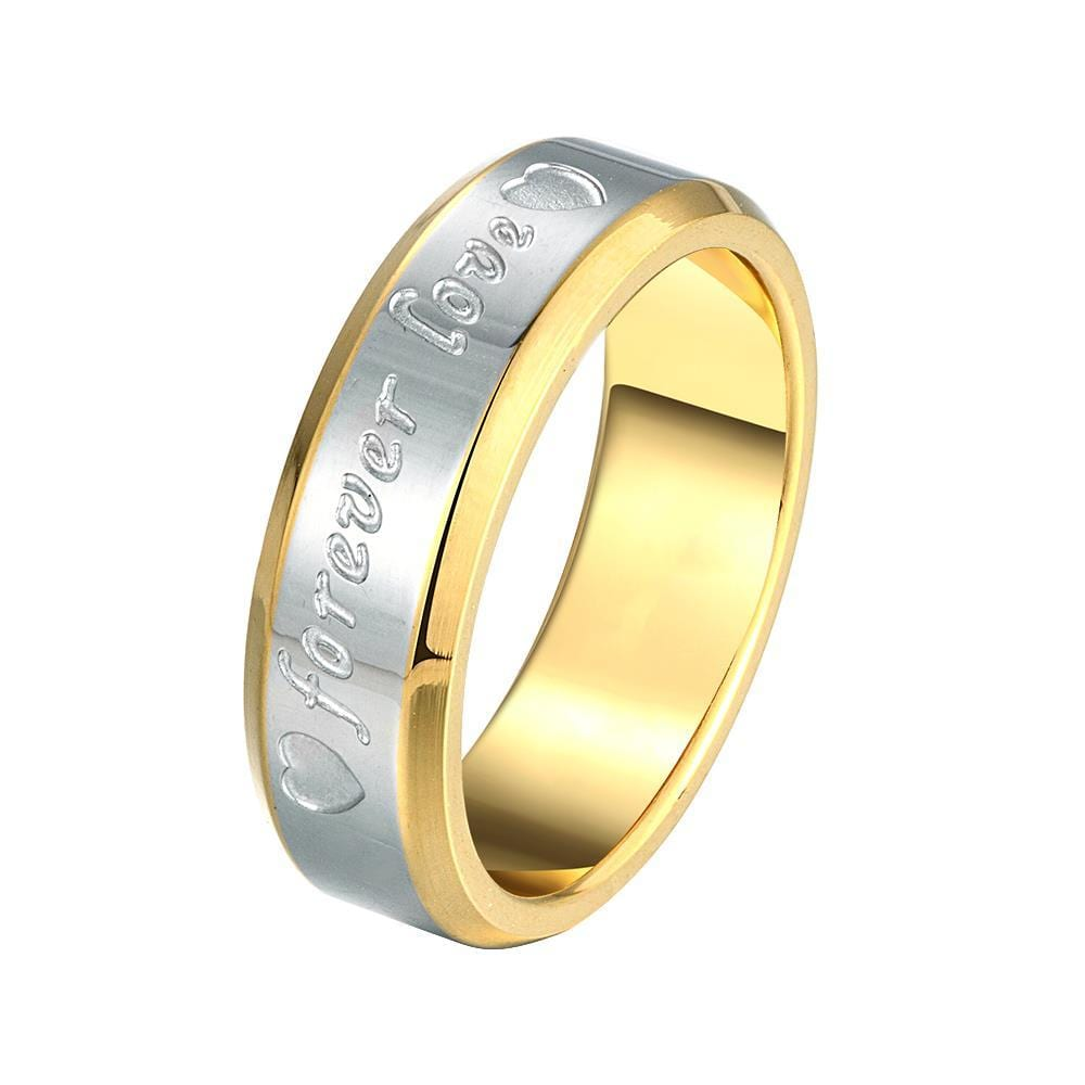 Vienna Jewelry Sterling Silver Infinite Love Classical Band Size: 9