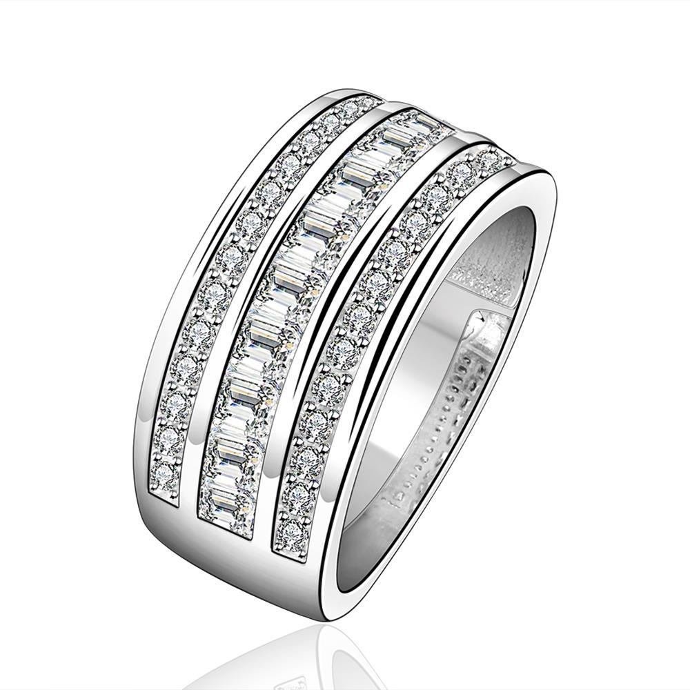 Vienna Jewelry Sterling Silver Jewels Covering Modern Ring Size: 7