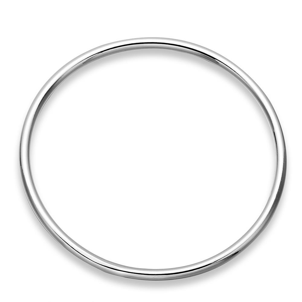 Sterling Silver Mid Size Classic Bangle