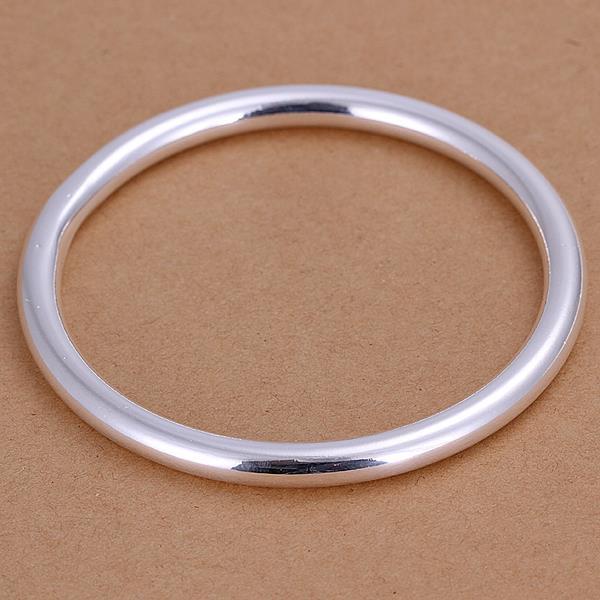 Vienna Jewelry Sterling Silver Classic Petite Bangle