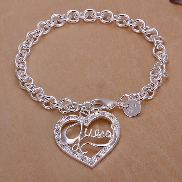 Vienna Jewelry Sterling Silver Jesus Is Love Bracelet