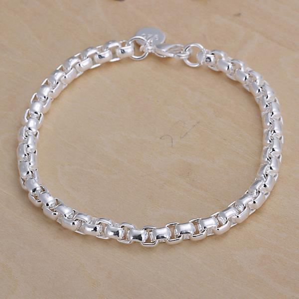 Vienna Jewelry Sterling Silver Petite Chain Bracelet