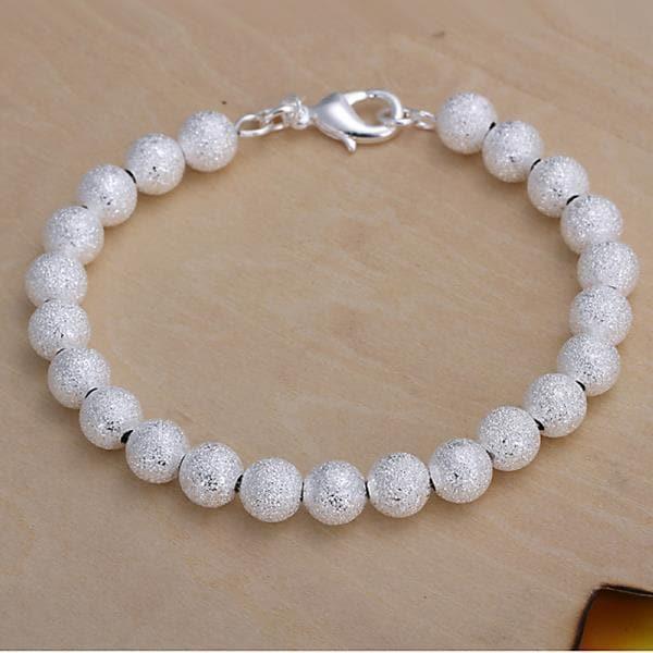 Vienna Jewelry Sterling Silver Muli Classic Pearl Bracelet