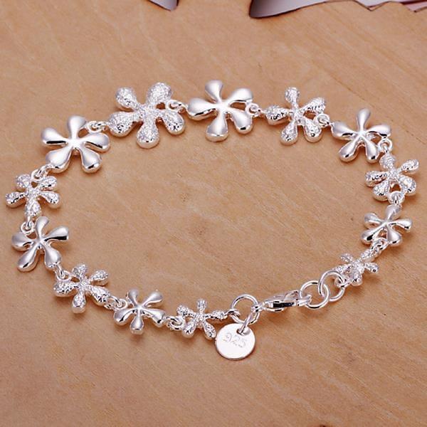 Vienna Jewelry Sterling Silver Multi-Starfish Bracelet