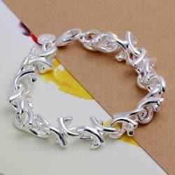 Vienna Jewelry Sterling Silver Starfish Surrounding Bracelet - Thumbnail 0