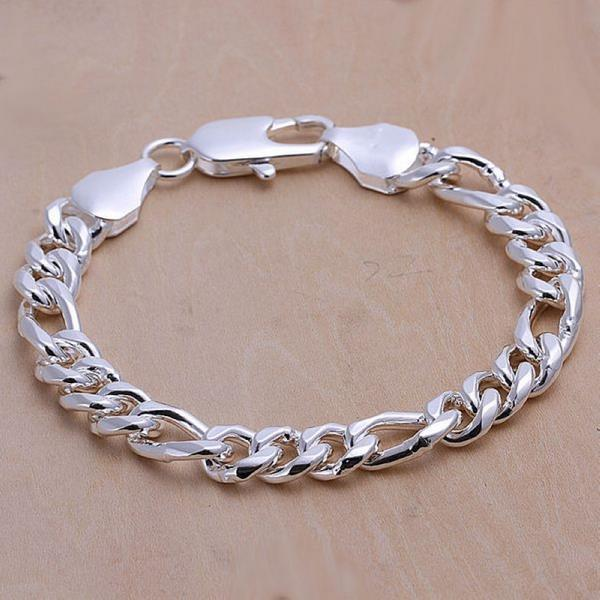 Vienna Jewelry Sterling Silver Classic Sleek London Bracelet - Thumbnail 0