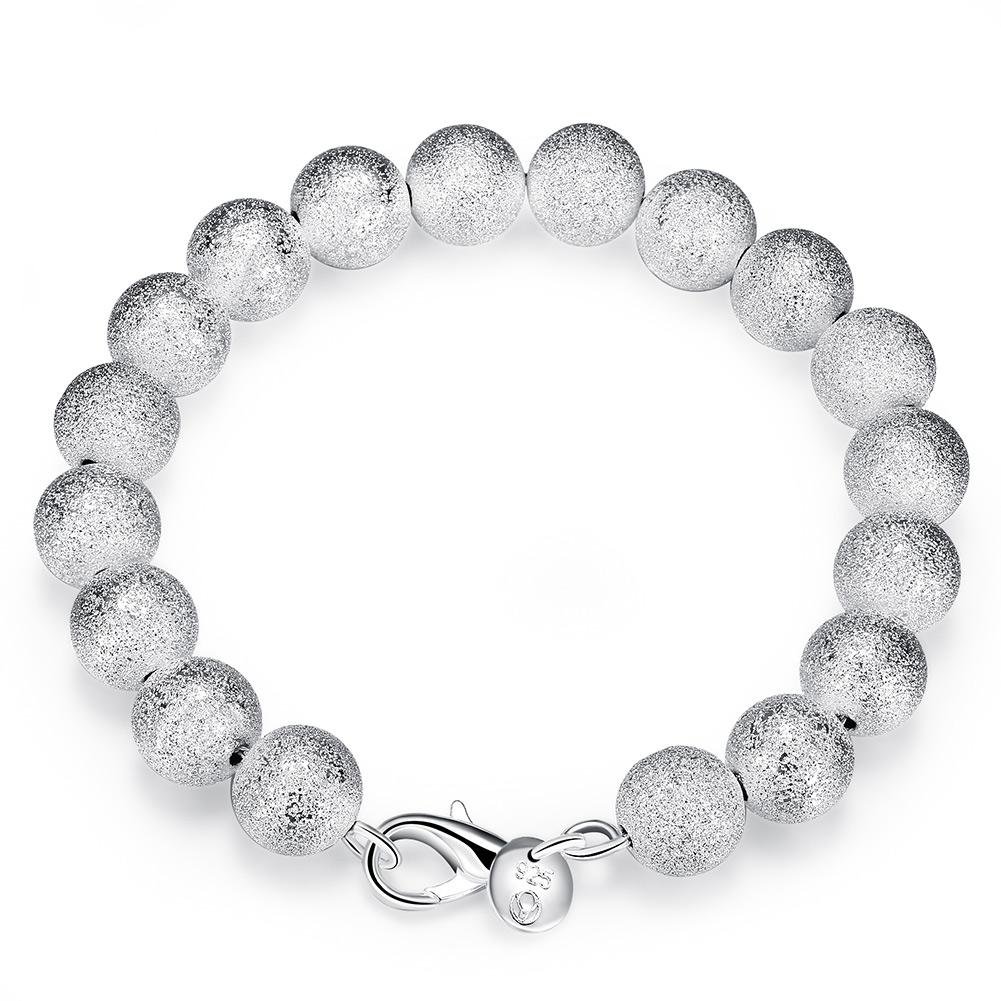 Vienna Jewelry Sterling Silver Multi-Pearl Bracelet