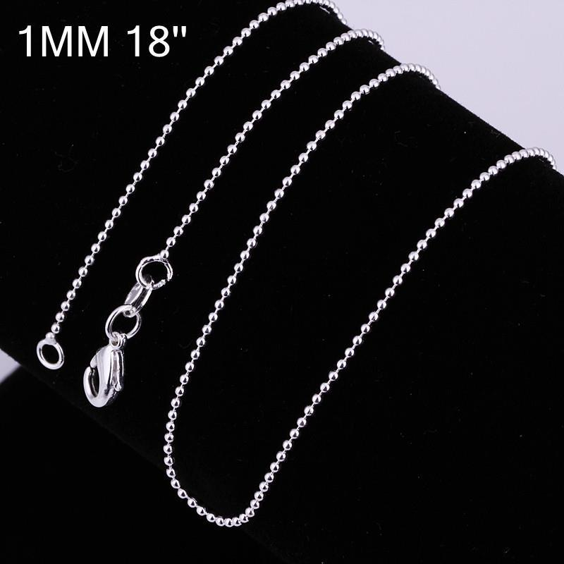 Vienna Jewelry Sterling Silver Classical New York Inspired Chain Necklace