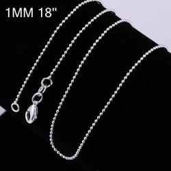 Vienna Jewelry Sterling Silver Classical New York Inspired Chain Necklace - Thumbnail 0