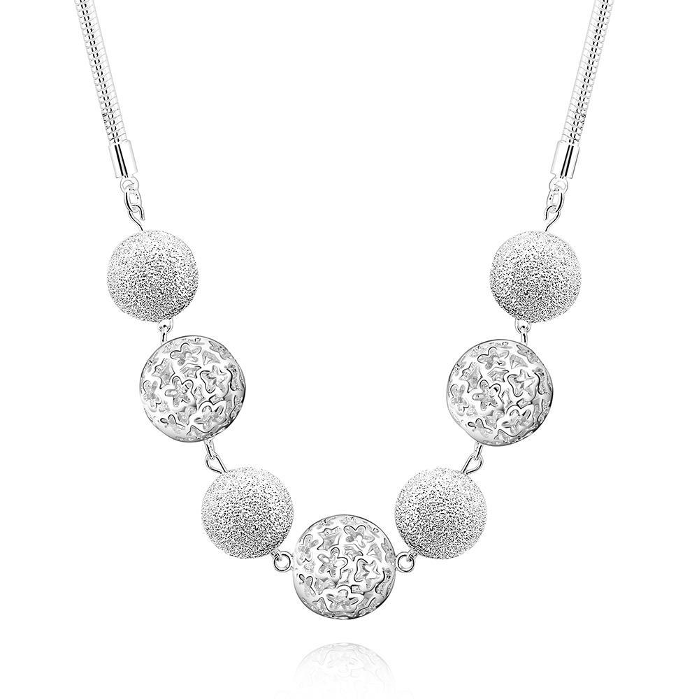 Vienna Jewelry Sterling Silver Multi Pav'e Crystal Drop Necklace