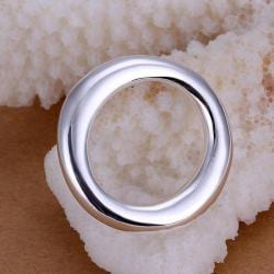 Vienna Jewelry Sterling Silver Circular Pendant - Thumbnail 0