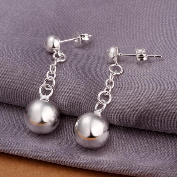 Vienna Jewelry Sterling Silver Drop Drop Pearl Earring