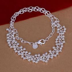 Vienna Jewelry Sterling Silver Pearl Orchid Filled Necklace - Thumbnail 0