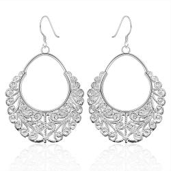 Vienna Jewelry Sterling Silver Classic Fifth Avenue Inspired Earring - Thumbnail 0