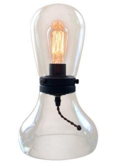 Modern glass table lamp light