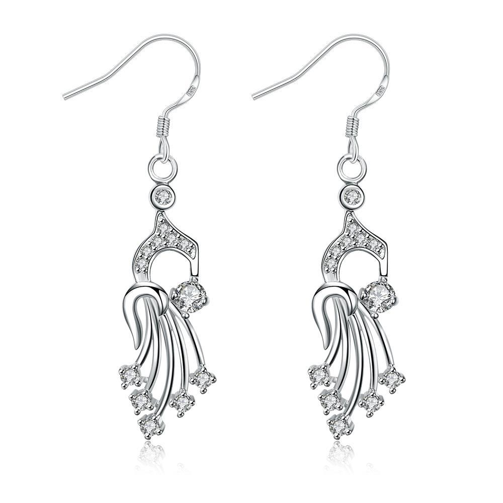 Vienna Jewelry Dangling Jewels Drop Earrings
