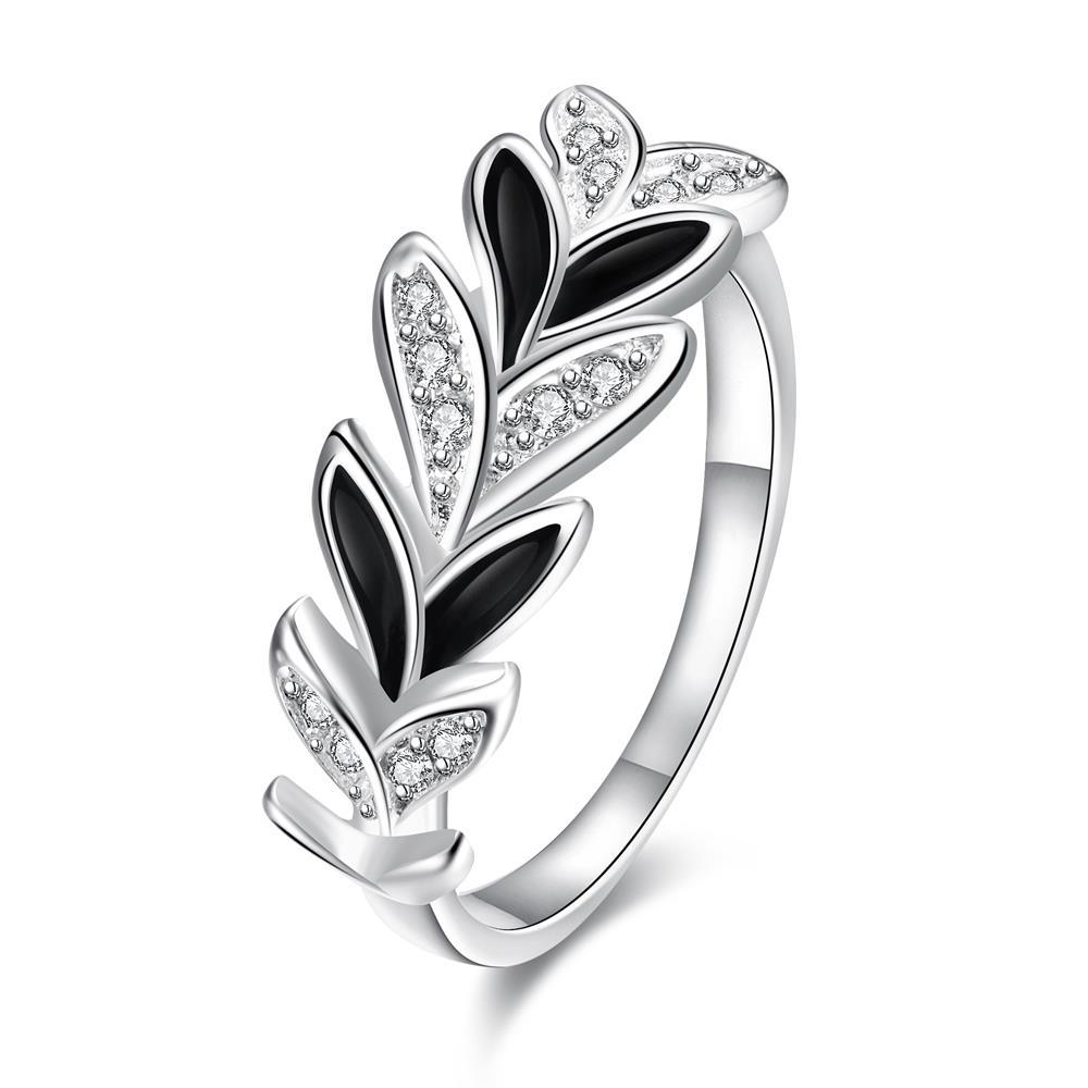 Multi Onyx Covering Floral Orchid Petite Ring Size 8