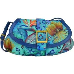 Women's Anuschka Small Ruched Flap Handbag Tropical Dream