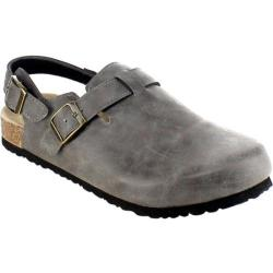 Women's Beston Casco-01 Slingback Grey Faux Leather