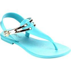 Women's Beston Sahara-01 T Strap Sandal Mint PVC