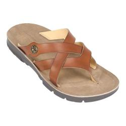 Women's Cliffs by White Mountain Bancroft Thong Sandal Honey Smooth Synthetic