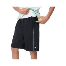 Boys' Fila Heritage Short Black/Andean Green