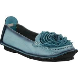 Women's L'Artiste by Spring Step Dezi Slip-On Blue Leather