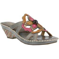 Women's L'Artiste by Spring Step Enah Slide Gray Multi Leather