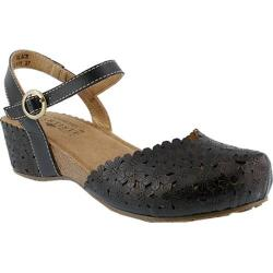 Women's L'Artiste by Spring Step Livvy Closed Toe Sandal Black Leather