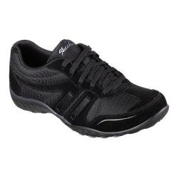Women's Skechers Relaxed Fit Breathe Easy Jackpot Sneaker Black