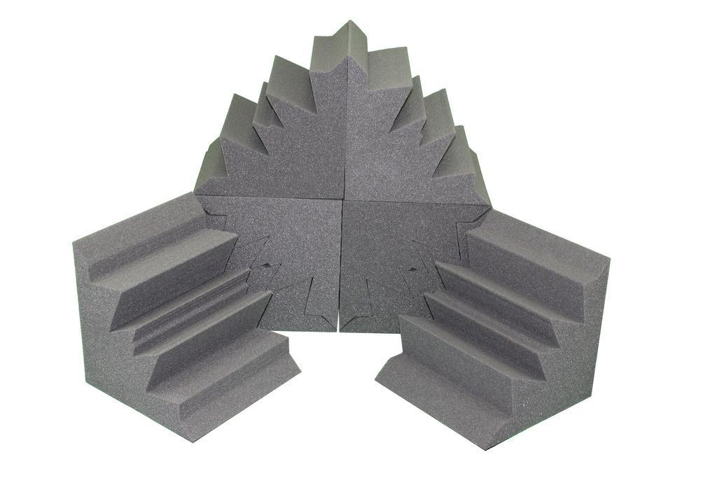 Acoustic Bass Trap Soundproofing Corner Wall Foam 12x12x12