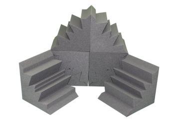 Acoustic Bass Trap Soundproofing Corner Wall Foam 12x12x12 - Thumbnail 0
