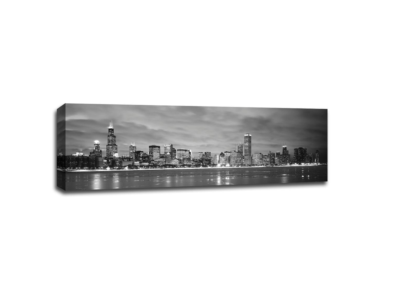 Chicago Waterfront B&W
