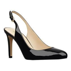 Women's Nine West Holiday Slingback Black Synthetic