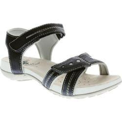 Women's Spring Step Maluca Ankle Strap Sandal Black Manmade