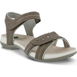 Women's Spring Step Maluca Ankle Strap Sandal Taupe Manmade