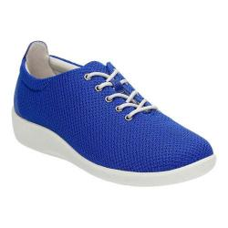 Women's Clarks Sillian Tino Oxford Blue Synthetic