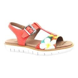 Women's Dromedaris Ana Sandal Coral Soft Goat Leather