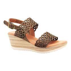 Women's Dromedaris Libby Quarter Strap Sandal Olive Waxed Leather|https://ak1.ostkcdn.com/images/products/100/774/P18483927.jpg?impolicy=medium