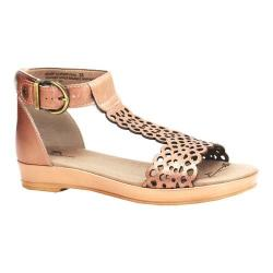 Women's Dromedaris Suri Quarter Strap Sandal Champagne Metalized Leather