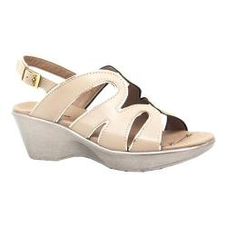 Women's Dromedaris Windy Strappy Sandal Beige Soft Aniline Leather