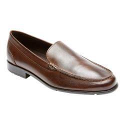 Men's Rockport Classic Loafer Lite Venetian Dark Brown Leather