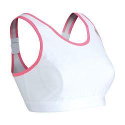 Women's CW-X Stabilyx Running Bra White/Soft Pink